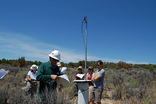 Researchers at Pump Canyon, NM
